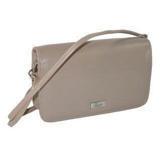 Buxton Women's Synthetic Single Flap Mini Cross Body Handbag - One size