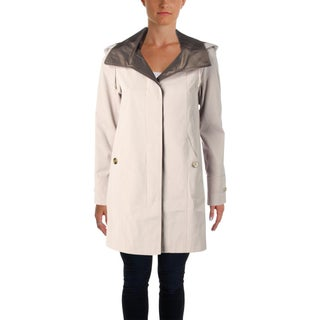 Gallery Womens Petites Water Resistant Coat Fall Lightweight