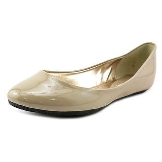 Steve Madden P-Heaven Women  Round Toe Synthetic Nude Flats