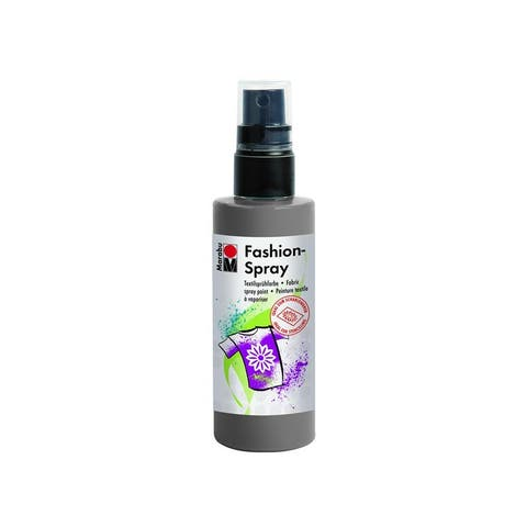 17199050078 marabu fashion spray paint 3 4oz grey