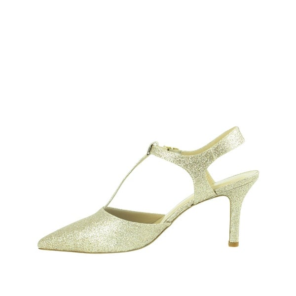 Ron White Womens Cambrie Pointed Toe Ankle Strap D-orsay Pumps - 9.5