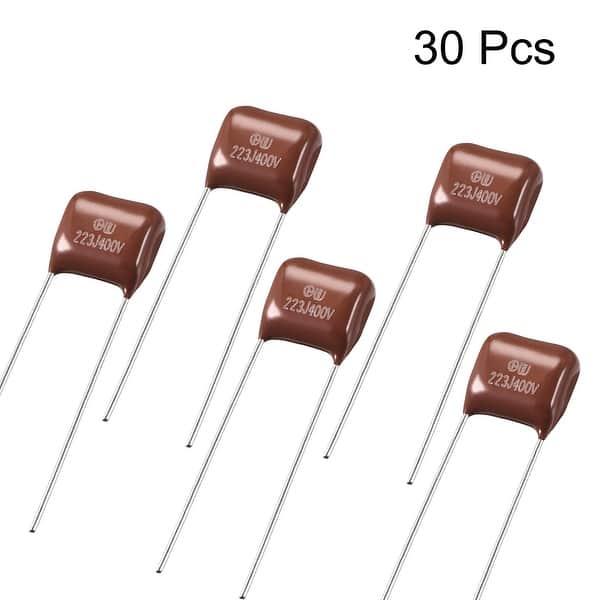 CBB21 Metallized Polypropylene Film Capacitors 400V 10NF 30pcs
