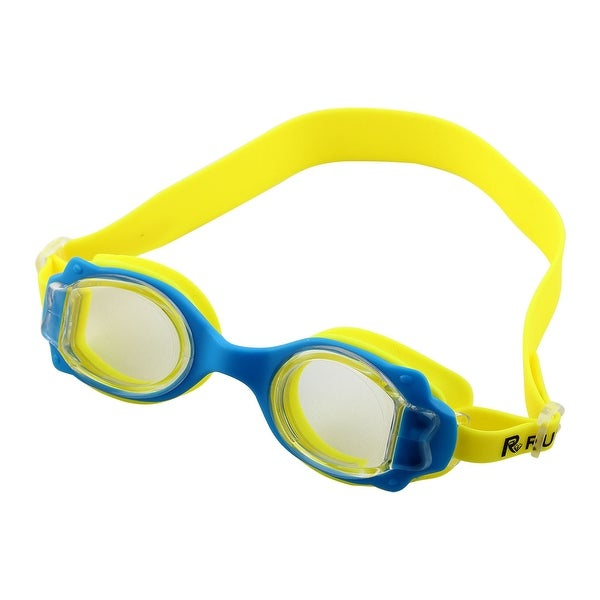 cc61f36cf1 Shop Adjustable Belt Anti Fog Swim Glasses Swimming Goggles Yellow for Kids  Children - Free Shipping On Orders Over  45 - Overstock - 17579498