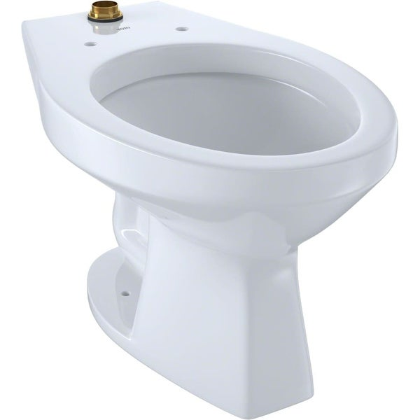 Shop Toto CT705UN Commercial Elongated Toilet Bowl Only - Less Seat ...