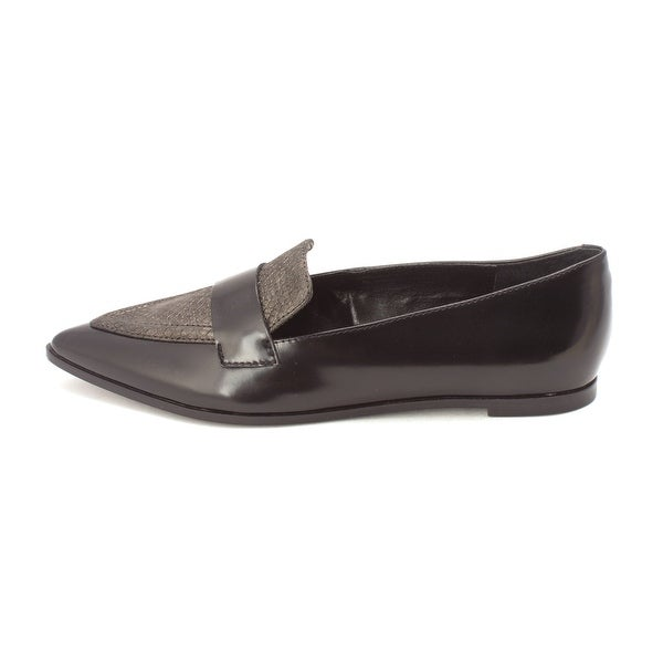 Ivanka Trump Womens Zessio Leather Pointed Toe Loafers - 7.5