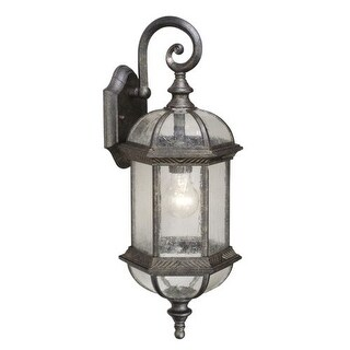 Vaxcel Lighting OW39782 Chateau 1 Light Outdoor Wall Sconce - 8.25 Inches Wide