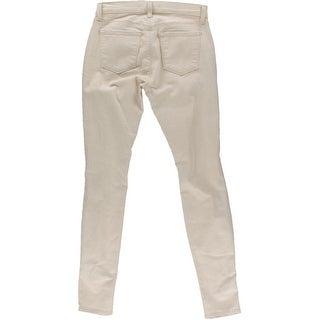 J Brand Womens Denim Distressed Skinny Jeans