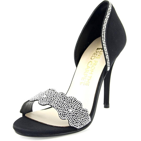 E! Live From The Red Carpet Willow Women Open-Toe Canvas Heels