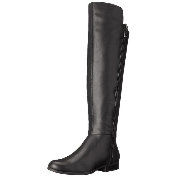 Bandolino Womens Camme Leather Closed Toe Knee High Fashion Boots