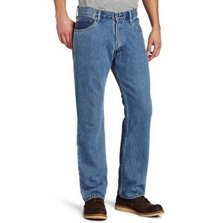Levis Mens 505 Regular Fit Jean, Mediumstonewash