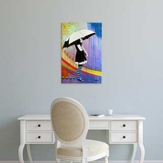 Easy Art Prints AbcArtAttack's 'Waiting for the Rain' Premium Canvas Art