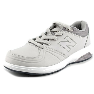 New Balance WW813 2E Round Toe Leather Walking Shoe
