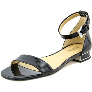 Michael Michael Kors Joy Flat Sandal Women  Open Toe Patent Leather  Sandals