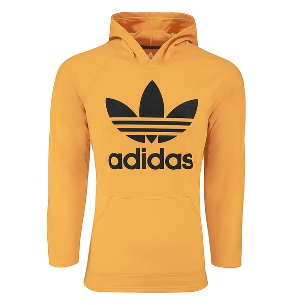 516159a54c6d Shop adidas Women s Originals Trefoil Hooded Sweatshirt - Free Shipping On  Orders Over  45 - Overstock - 27288526
