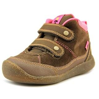 Keen Tris WP Toddler Round Toe Suede Brown Walking Shoe