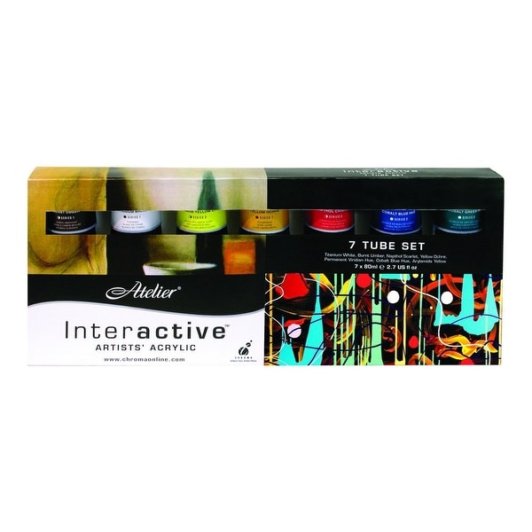 Chroma - Atelier Interactive Artists' Acrylic - 7-Color Set