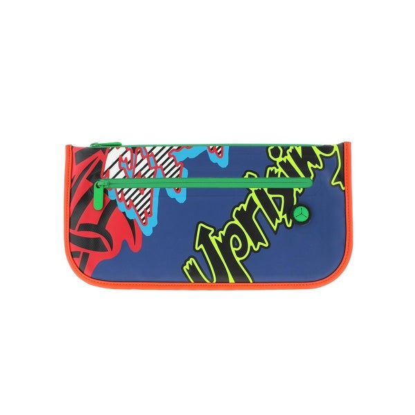 Marc by Marc Jacobs Womens Luna Tarp Fergus Annie Clutch Handbag Graphic - Medium