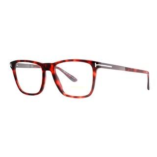 TOM FORD Square TF 5351 Men's 052 Brown Torotoise Clear Eyeglasses - 54mm-18mm-145mm