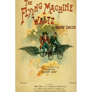 Marmont Hill The Flying Machine - Art Print on Premium Canvas Smithsonian Art Print on Premium Quality Canvas