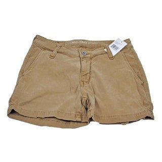Big Star Women's Brown Flat Front Size 25 Shorts