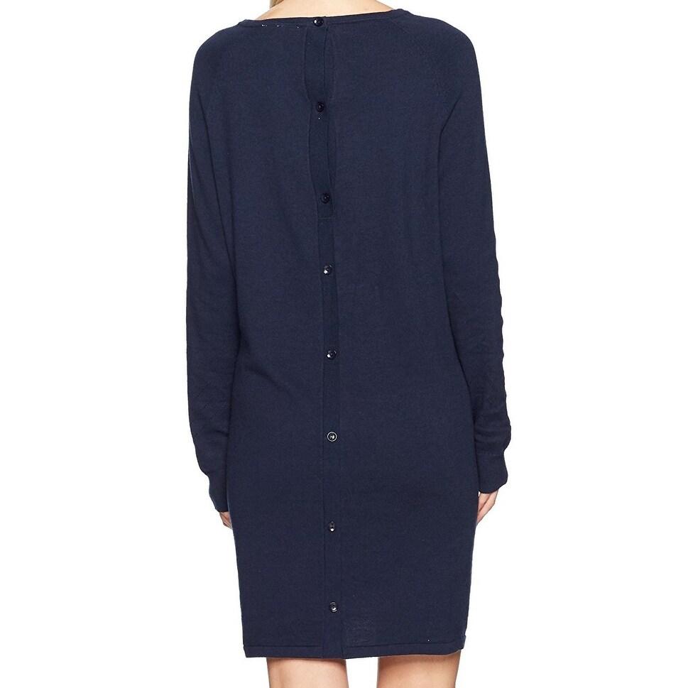 Long Sleeve Button-Back Dress Roxy Damen Winter Story