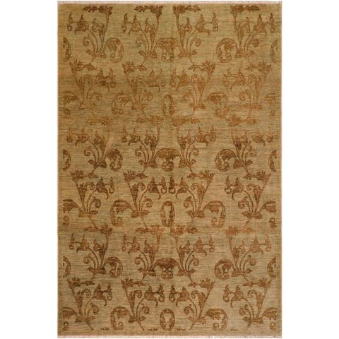 """Boho Chic Ziegler Elma Hand Knotted Area Rug -8'0"""" x 9'4"""" - 8 ft. 0 in. X 9 ft. 4 in."""