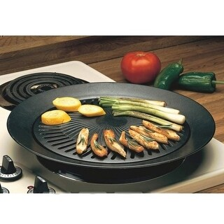 Smokeless Indoor Stovetop Barbeque Grill - Black