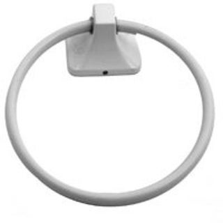 Mintcraft L3660-51-07 Towel Ring, Coral White