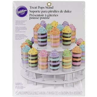 Wilton 2-Tier Treat Pops Stand,14x7.5 Inches https://ak1.ostkcdn.com/images/products/is/images/direct/d74fc36182d145f4d9a4d94bfecab82fdaa864e4/Wilton-2-Tier-Treat-Pops-Stand%2C14x7.5-Inches.jpg?impolicy=medium
