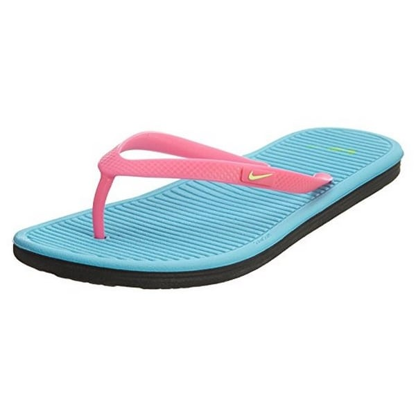 38fed10c74fae Shop Nike Solarsoft Thong 2 (Gs Ps) Little Kids Style 555624 - On ...