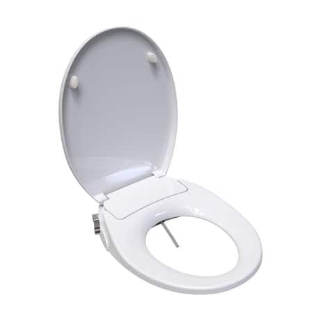 SaniWise HAUN Round Bidet Toilet Seat