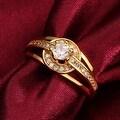 Classic Gold Petite Circular Ring - Thumbnail 2