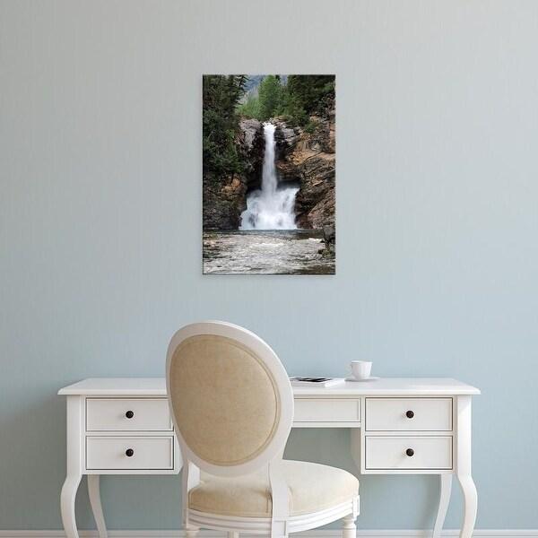 Easy Art Prints Michel Hersen's 'Running Eagle Falls' Premium Canvas Art