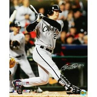 Geoff Blum Chicago White Sox 2005 WS Game 3 14th Inning GW HR 16x20 Photo