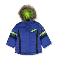 R 1881 by S Rothschild Colorblocked Parka Coat Jacket Cobalt - 12 months