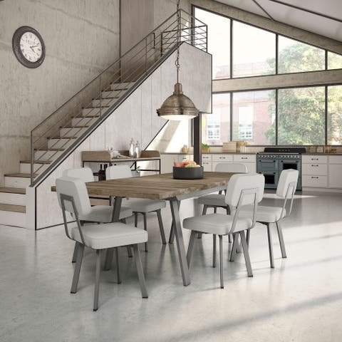 Amisco Kane Extendable Table and Clarkson Chairs Dining set
