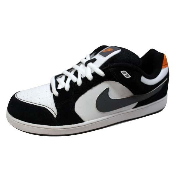 Nike Men's Hustle White/Nano Grey-Bright Ceramic 369189-100 Size 10.5