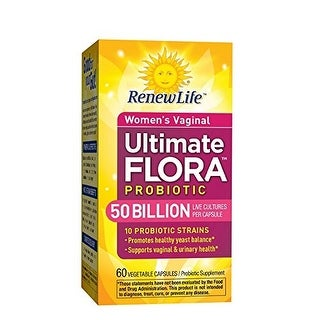Renew Life Ultimate Flora Women's Vaginal Probiotic 50 Billion, 60 Count