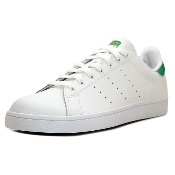 sale retailer efcc3 41821 Adidas Stan Smith Men Round Toe Leather White Sneakers