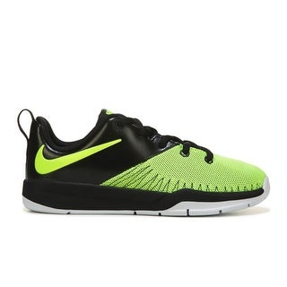 NIKE Boy's TEAM HUSTLE 7 LOW TOP Sneakers - volt
