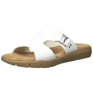 Aerosoles Womens New WIP Open Toe Casual Slide Sandals