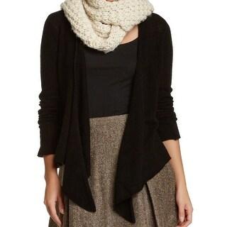 Philosophy NEW Black Women's Medium M Cardigan Cashmere Sweater