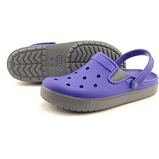 Crocs Citiliane clog Men Round Toe Synthetic Blue Clogs
