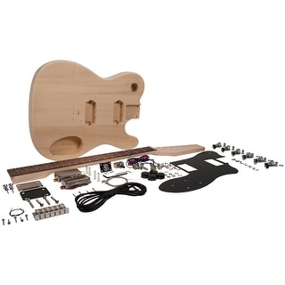 Premium DIY Tele Style Electric Guitar Kit - Dual Humbuckers Luthier Project Kit