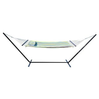 Stansport Antigua Double Cotton Hammock With Stand