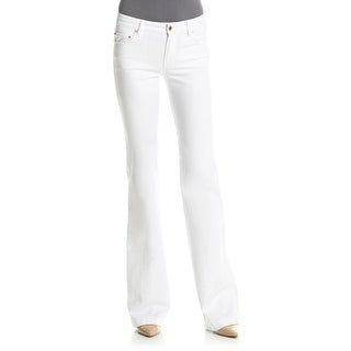Michael Kors NEW White Washed Denim Women's Size 6 Flare Leg Jeans