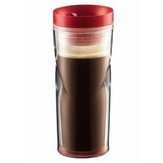 Bodum 11042-294 15-Ounce Travel Mug, Red