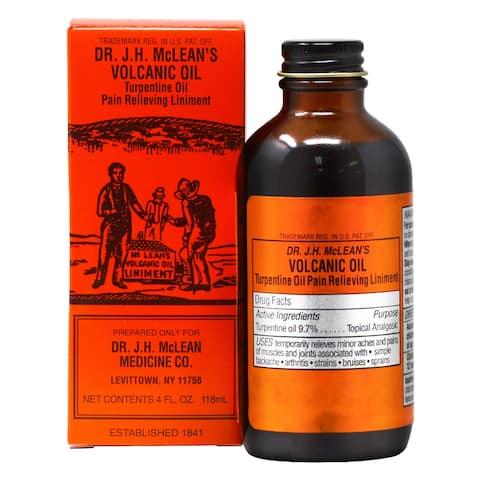 Dr. Jh. McLean's Volcanic Oil 4 oz