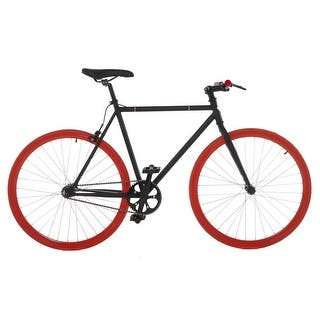 Vilano Fixed Gear Bike Fixie Single Speed Road Bike|https://ak1.ostkcdn.com/images/products/is/images/direct/d75be42d4d98388294ce8176bda974a4fde2ad1d/Vilano-Fixed-Gear-Bike-Fixie-Single-Speed-Road-Bike.jpg?impolicy=medium