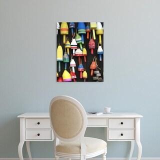 Easy Art Prints Jarman Fagalde's 'Northeast Harbor II' Premium Canvas Art